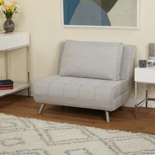 Beautiful Light Gray Futon Chair