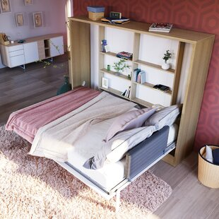 Gautreau Wall Configuration Full/Double Murphy Bed by Brayden Studio