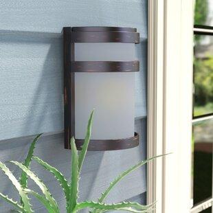 Louisiana 1-Light Outdoor Bulkhead Light by Ebern Designs