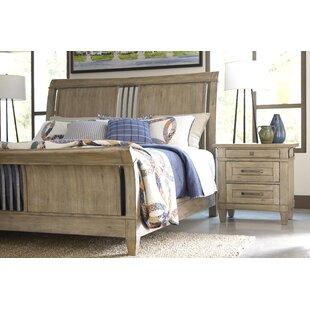 Gracie Oaks Ariel Sleigh Bed