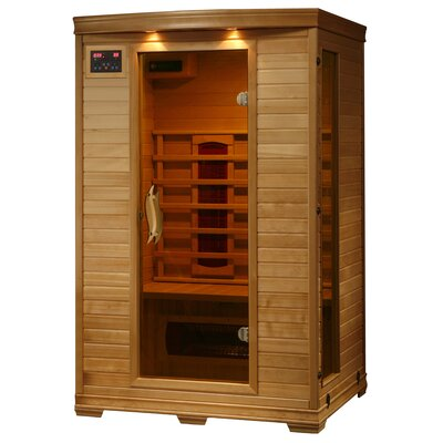 Madrid 2 Person FAR Infrared Sauna Radiant Saunas
