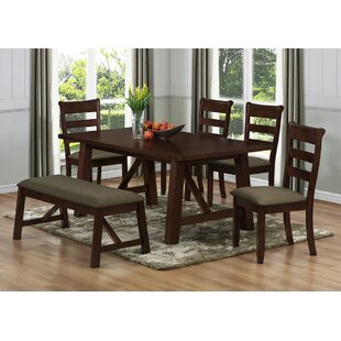 Valencia Solid Wood Dining Table Milton Green Star