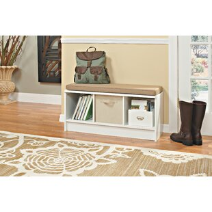 Read Reviews Cubicals Shoe Storage Bench By ClosetMaid
