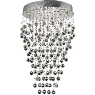 Everly Quinn Deidamia 8-Light Semi Flush Mount