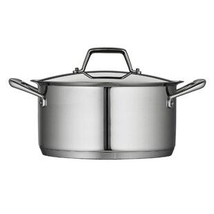 Gourmet Prima 6-qt. Stock Pot with Lid