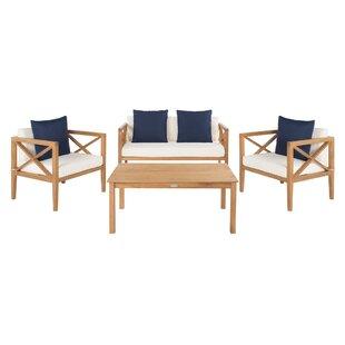 Bellows 4 Piece Sofa Set With Cushions Joss Amp Main