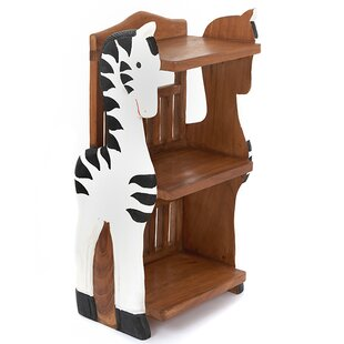 Zebra Childs 78cm Bookshelf By Just Kids