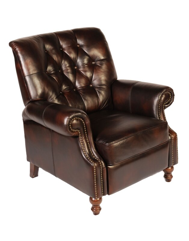 Awesome Leather Manual Recliner