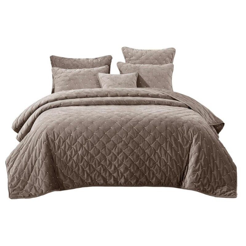 House Of Hampton Bakken Reversible Bedspread Set Reviews Wayfair