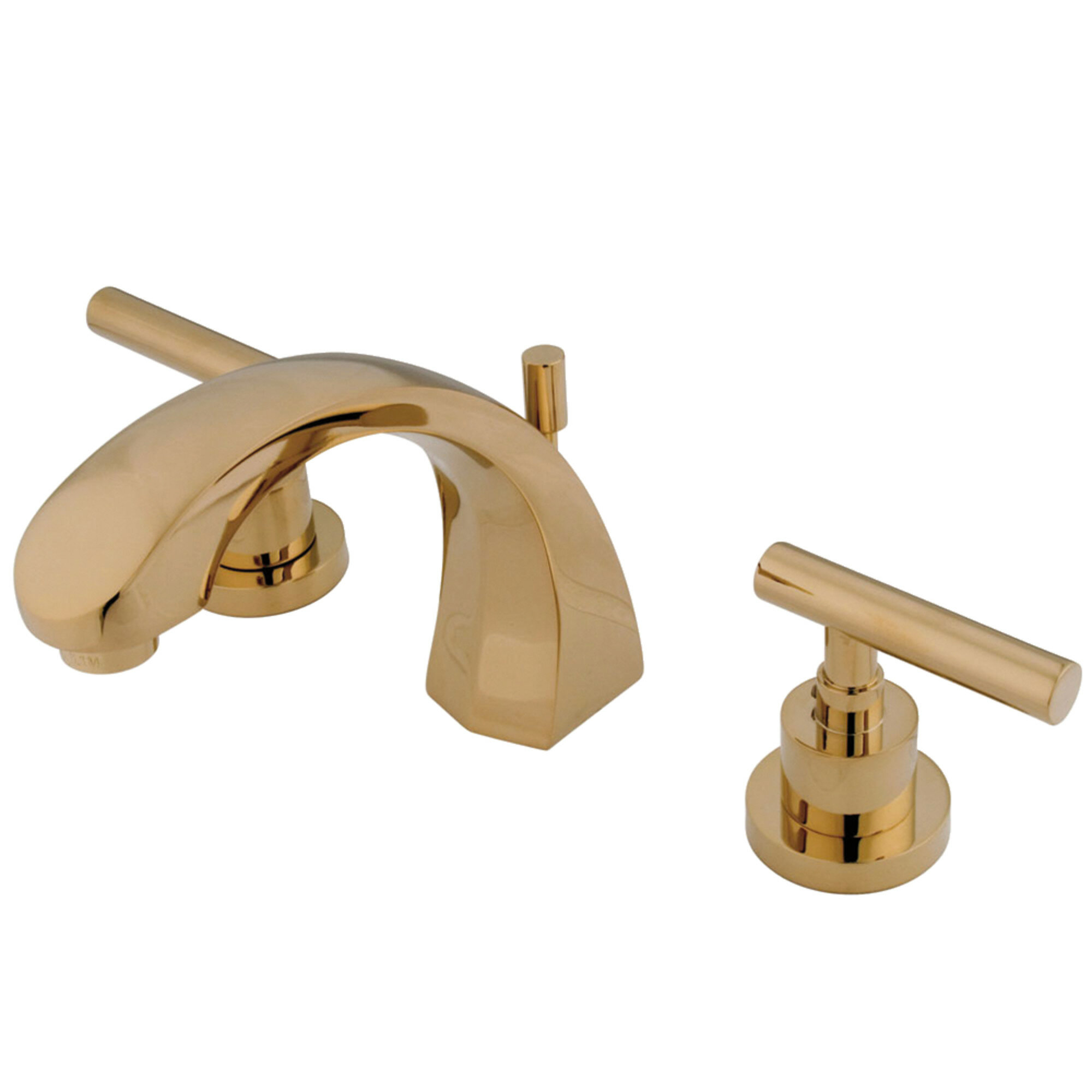 Modern Contemporary Brushed Brass Bathroom Faucet Allmodern