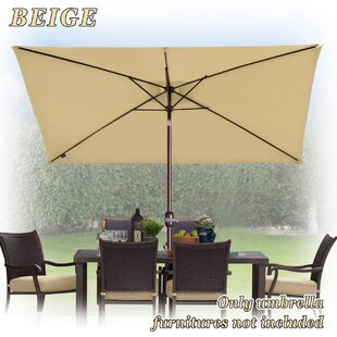 Red Barrel Studio Bickford Outdoor Garden Patio Market Umbrella