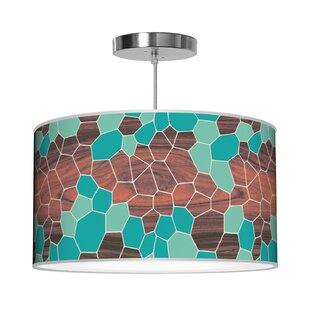 Jef Designs Organic Modern Geode Pendant