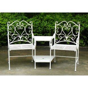 Fieldsboro Iron Love Seat By Sol 72 Outdoor
