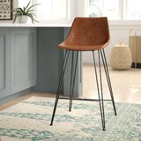 Adrianne Upholstered Bar & Counter Stool by Mistana™