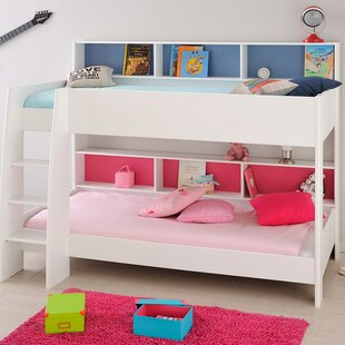Leo Twin Over Twin Bunk Bed By Parisot