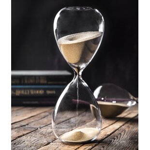 Plain Hourglass Sand Timer 60 Minutes