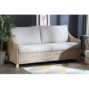 Read Reviews Carly 3 Seater Conservatory Sofa