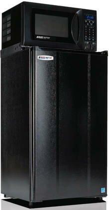 Microfridge Safe Plug 3.6 cu. ft. Freestanding Mini Fridge with Freezer and Microwave