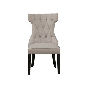 Fairbanks Button Tufted Upholstered Dining Chair (Set of 2)