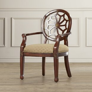 Lucinda Spider Web Fabric Armchair by Charlton Home