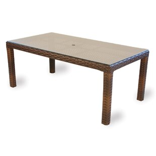 Lloyd Flanders Contempo Wicker Rattan Dining Table