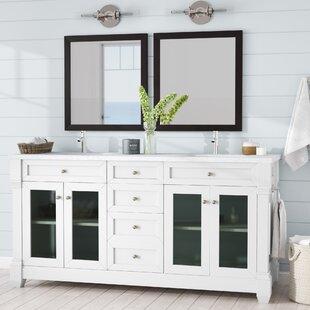 Laliberte 72 Double Bathroom Vanity Set by Lark Manor