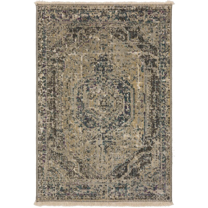 World Menagerie Prima Oriental Teal Area Rug Reviews Wayfair