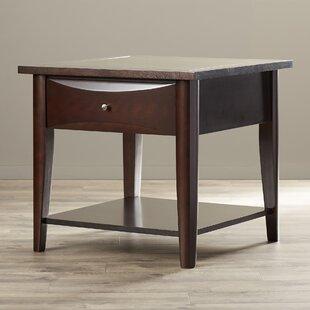 Jazalyn End Table by Red Barrel Studio