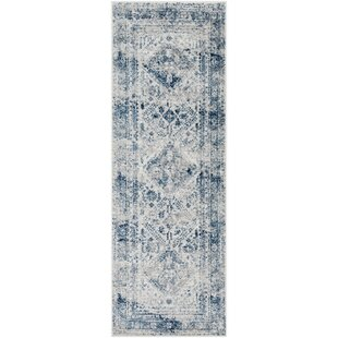 Ranck Navy Area Rug By Bungalow Rose