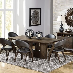 Samira Solid Wood Dining Table by Corrigan Studio Discount
