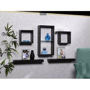 Metts 5 Piece Wall Shelf Set
