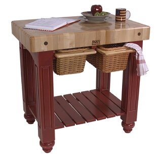 American Heritage Prep Table with Butcher Block Top by John Boos