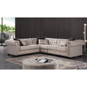 Lunceford Living Reversible Sectional by Dar..