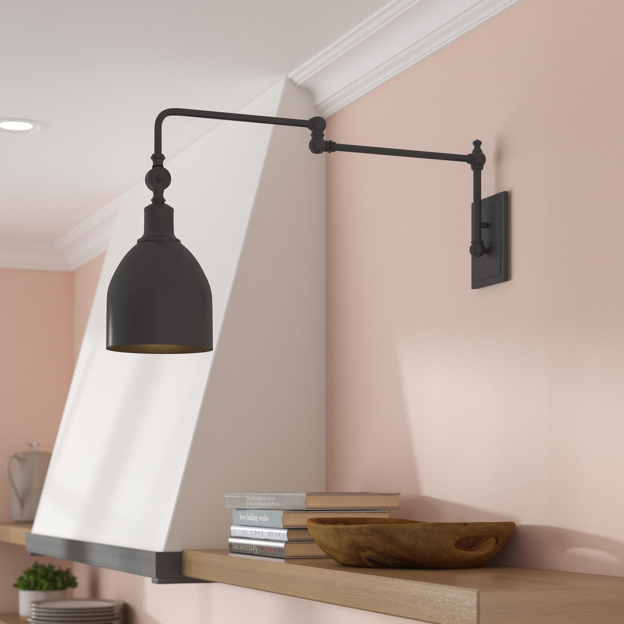 Gracie oaks lyana swing arm lamp reviews wayfair