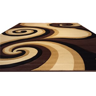 Affordable Hand-Carved Black/Brown/Beige Area Rug ByRug Tycoon