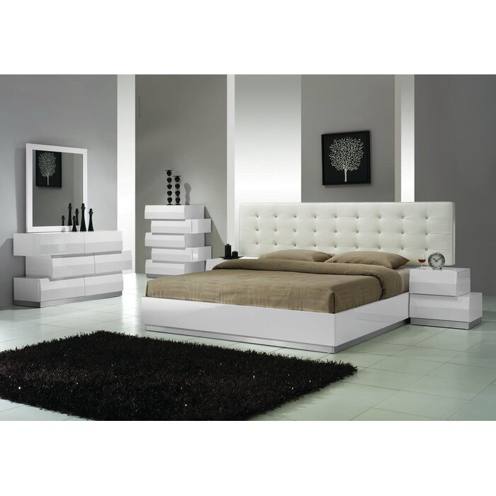 Mcgowen 5 Pieces Bedroom Set