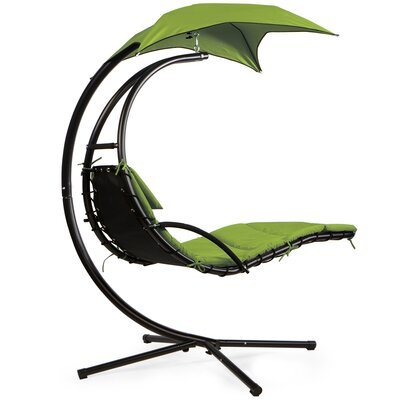 Barton Hanging Chaise Lounger with Stand
