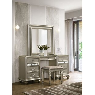 Rosdorf Park Drage Vanity with Mirror