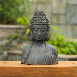 Large Buddha Bust Wayfair