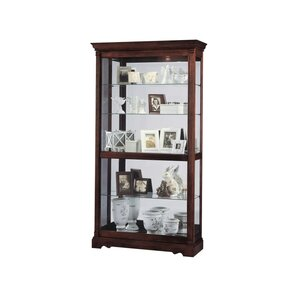 Dublin Lighted Curio Cabinet by Howard..