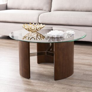 Buy luxury Matheus Round Coffee Table By Latitude Run