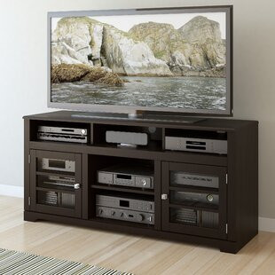 Inexpensive West Lake 60 TV Stand with Optional Fireplace by dCOR design