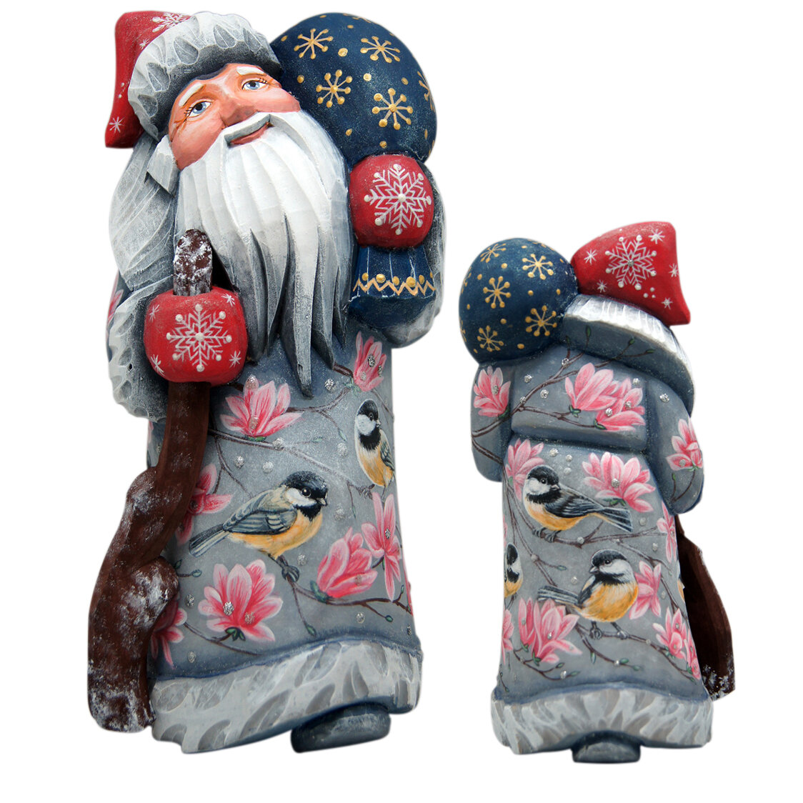 Gray Pink Santa Figurines You Ll Love In 2021 Wayfair