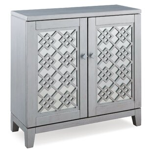 Cloutier 2 Door Accent Cabinet by Bungalow Rose