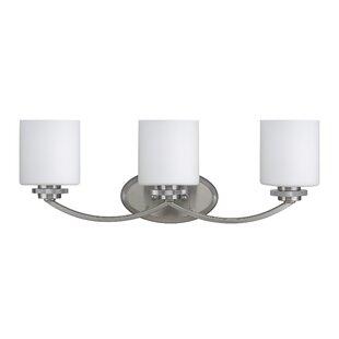 Brookshire 3-Light Vanity Light By Three Posts Wall Lights