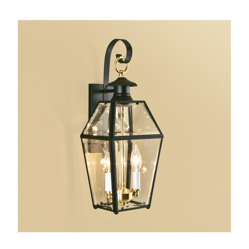 Darby Home Co Alam 2-Light Outdoor Wall Lantern | Wayfair