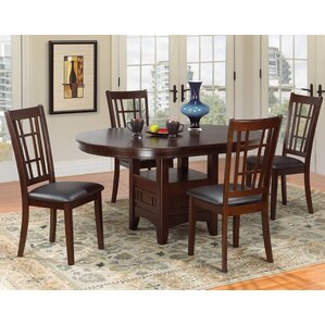 Virna 5 Piece Dining Set by Red Barrel St..