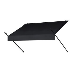 Awnings in a Box� Designer 6 ft. W x 3 ft. D Retractable Window Awning by IDM Worldwide