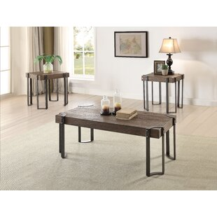 17 Stories Cristobal 3 Piece Coffee Table Set