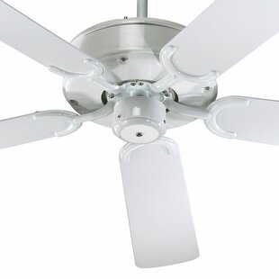 Best Choices 52 All-Weather Allure 5-Blade Patio Ceiling Fan By Quorum